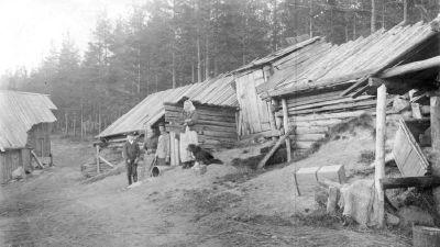Tyynelän torppa eli Tuonelan torppa Mäki-Matissa.