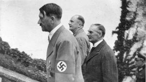 Hitler och Chamberlain i München 1938.
