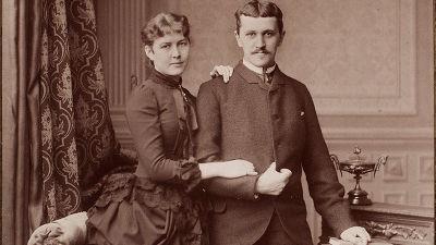 förlovningsparet Fanny och Paul Sinebrychoff hemmuseet