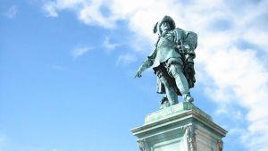 Kustaa II Aadolfin patsas Göteborgissa