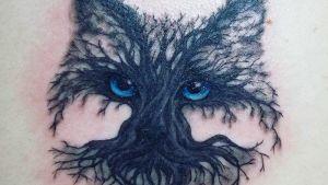Tatuerad katt