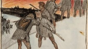 Akseli Gallen-Kallelas illustration till Sju bröder