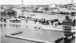 Tervaniemis siminrättning i Viborg 1936.