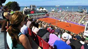Serena Williams pelaa Båstadissa, Ruotsissa
