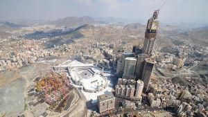 Abraj Al Bait-komplexet i Mecka.