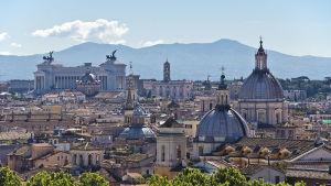 vy över staden rom
