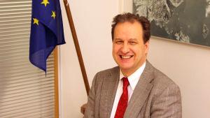 Matti Vainio, enhetschef för riskhantering. EU:s kemikalieverk.