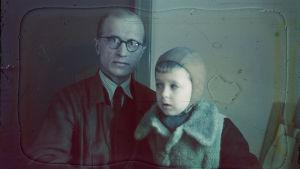 Jalmari och Juha Lankinen 1942.