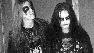 Dead och Euronymous från gruppen Mayhem