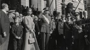 Juan Carlosin kruunajaiset, Espanja