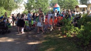 Muminparken öppnades äntligen i Borgå