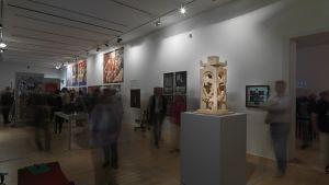 Nsk utställning i Ljubljana