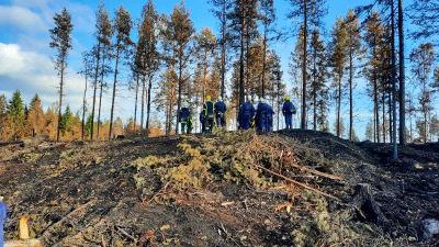 Brandmän i Kalajoki.