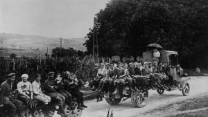 Tyska kvinnor under första världskriget år 1917.