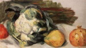 Pierre-Auguste Renoir: Cauliflower and pomegranates. Museum of John Paul II Collection