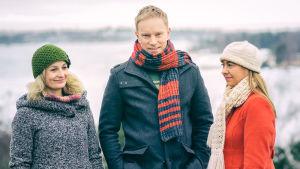 Reeta Maalismaa, Jukka Harju ja Sonja Fräki