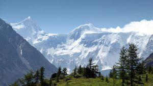 Altai-bergen i Sibirien