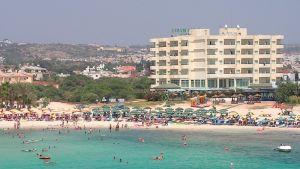 Ayia Napia på Cypern