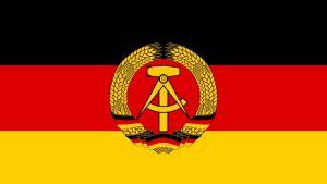 Östtysklands flagga