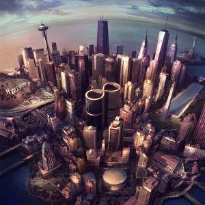 Foo Fighters -yhtyeen Sonic Highways -levyn kansi