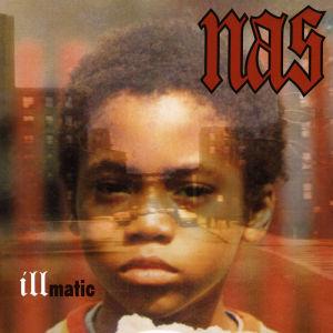 Skivomslag till Nas debutalbum Illmatic