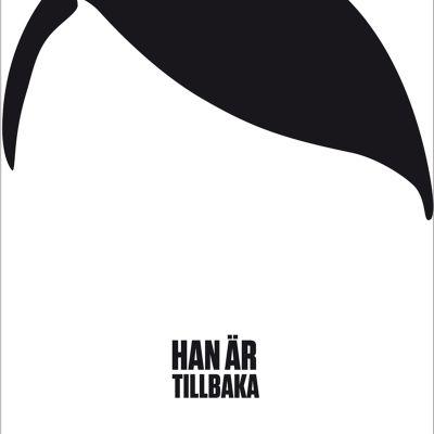 Timur Vermes roman Han är tillbaka, detalj av bokomslag.