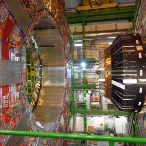 CERNin CMS-koeasema avattuna