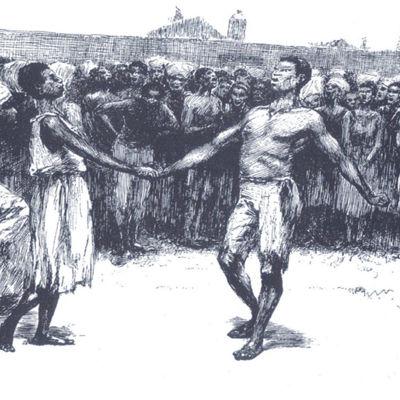 E. W. Kemblen kaiverrus New Orleansin Congo-aukiosta (1886)