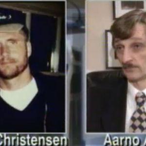 Steen Christensen och hans advokat Aarno Arvela