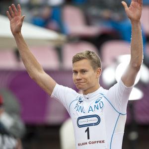 Oskari Mörö inför Sverigekampen 2016.