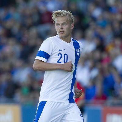 Suomen maajoukkueen Joel Pohjanpalo