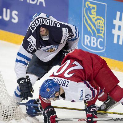 Kasper Björkqvist, FIN #12, Jakub Zboril, CZE #20