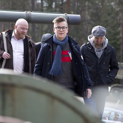 Petteri Sihvonen Riku Salminen Kimmo Kuhta