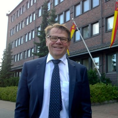 Maakuntajohtaja Kari Häkämies.