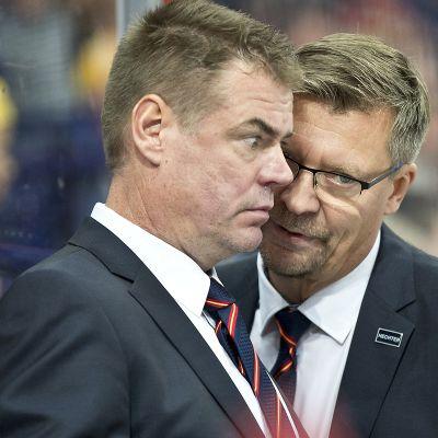 Jukka Jalonen ja Raimo Helminen