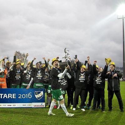 IFK Mariehamn juhlii mestaruutta