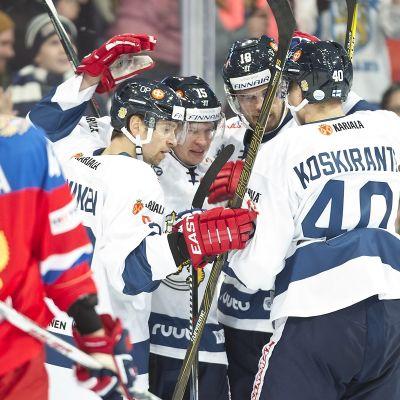 Miro Aaltonen, FIN #15 tasoittaa 1-1