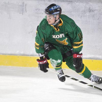 Michael Keränen kuvassa