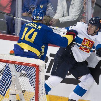 Suomi - Ruotsi, Mattias Ekholm ja Jori Lehterä