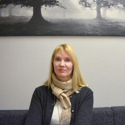 Lastenpsykiatri Anna-Mari Salmivalli.