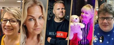 Collagebild av svenska dagens 2020 vardagliga hjältar.