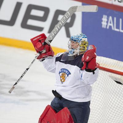 Veini Vehviläinen går in i kvalserien med en nolla i ryggen.