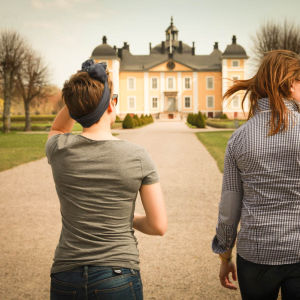 kaksi naista ja Strömsholman linna