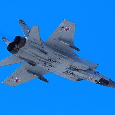 Ryska Mig-31 plan
