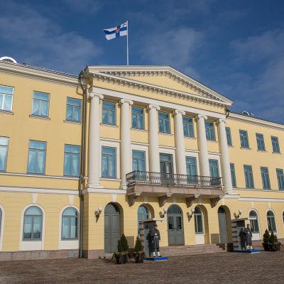 Presidentens slott i Helsingfors.