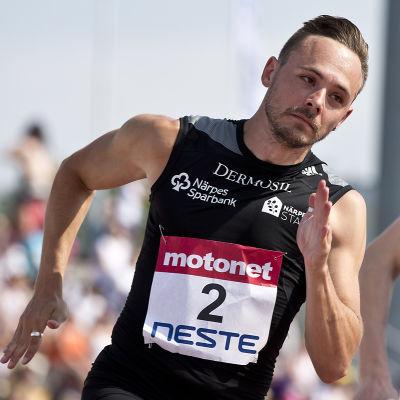 Jonathan Åstrand vann FM-brons på 200 meter.