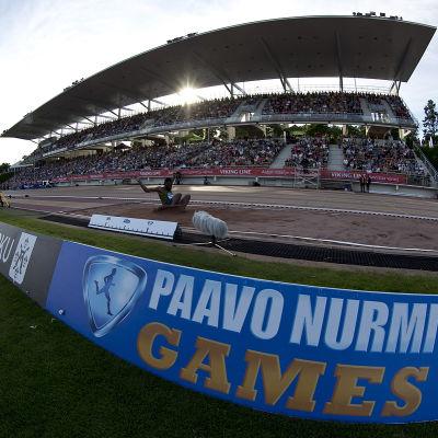 Paavo Nurmi Games blir World Challenge-tävling.