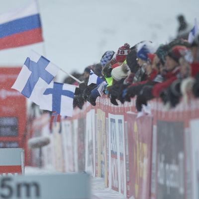 Världscupen 2016-2017 startade i Ruka.