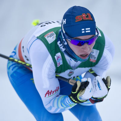 Matti Heikkinen i Ruka 2016.