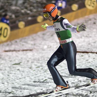 Jarkko Määttä i världscuptävlingen i Ruka 2016.